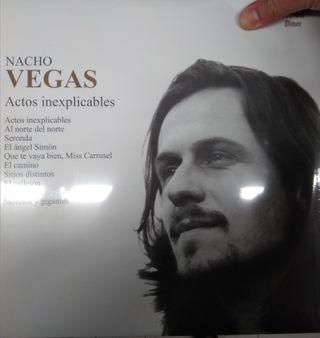 Nacho Vegas Actos inexplicables 2 LP
