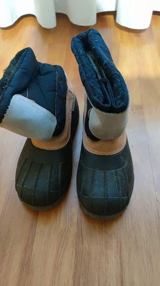 Botas de descanso, nieve