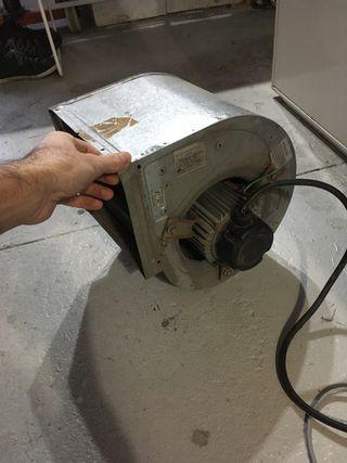 Extractor de aire industrial casals 1/5cv
