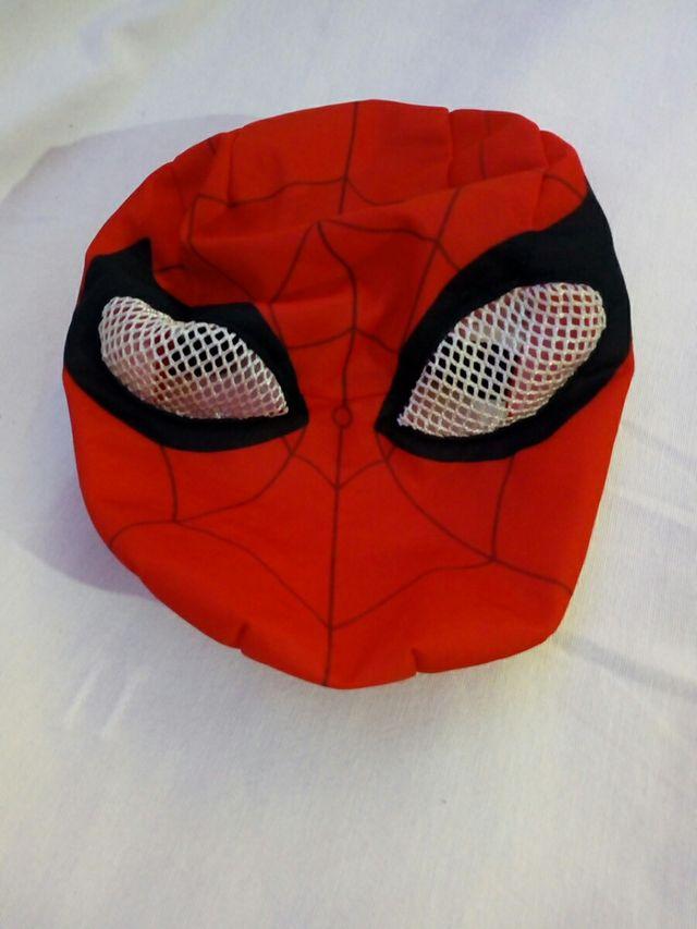 Careta de disfraz de Spiderman