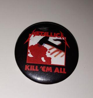 Chapa de Metallica - Kill Em All