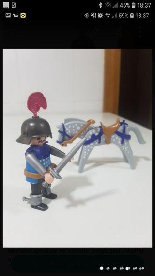 caballero medieval playmobil