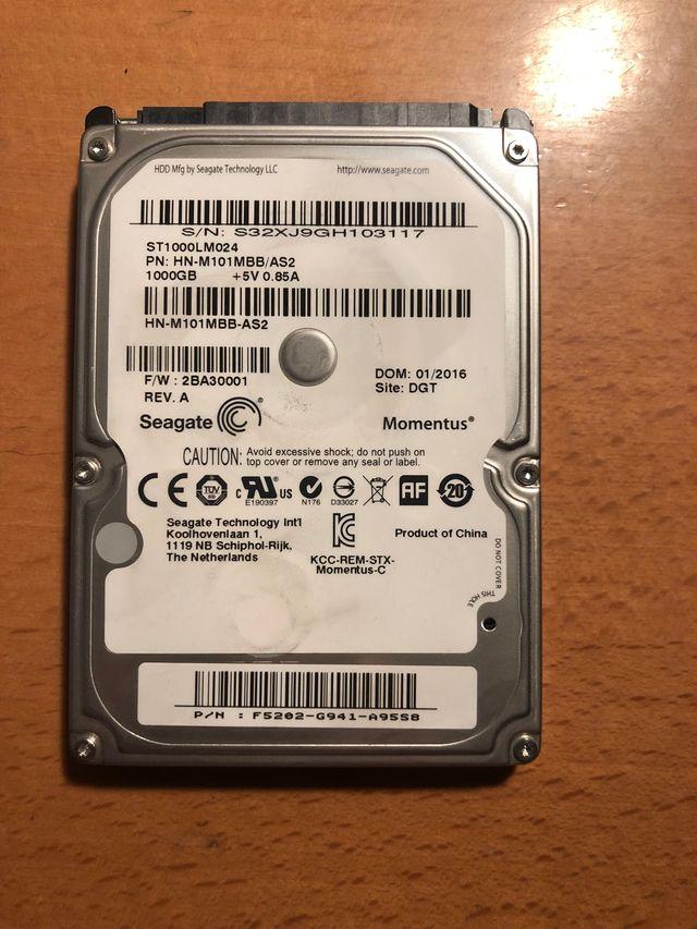 Disco duro portátil 1TB