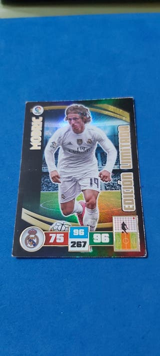 Carta Adrenalyn Modric Ed.Limitada Temp.2015/16