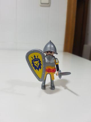 guerrero del leon medieval playmobil