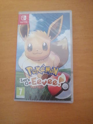 juego Nintendo switch pokemon let's go eevee