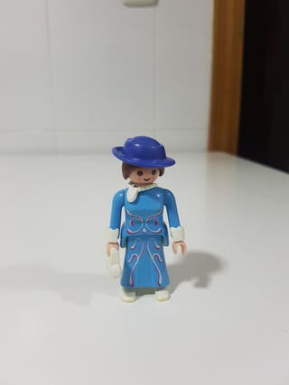 victoriana con bolso playmobil