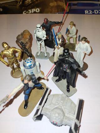 Figuras plomo Star Wars