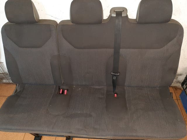 asiento central opel vivaro
