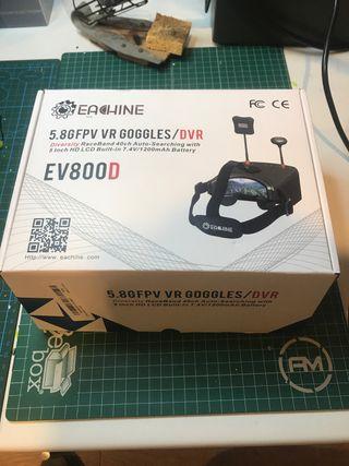 Eachine EV800D gafas fpv