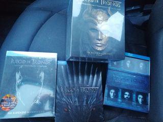 Juego de Tronos TODAS Temporadas Blu-ray