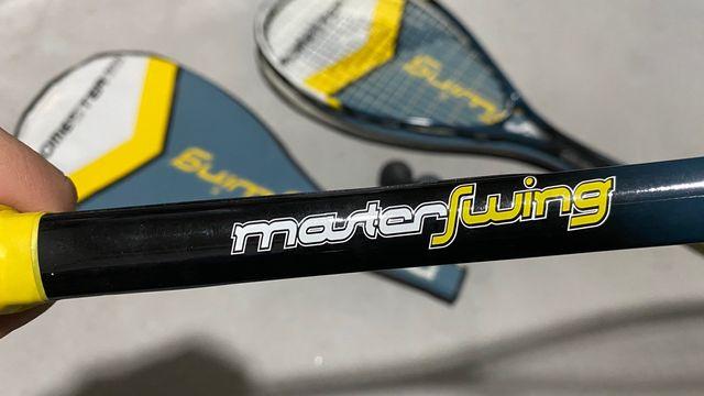 Raquetas Squash + pelotas