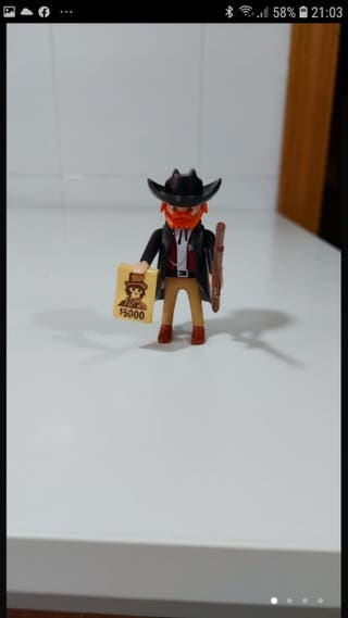cazarecompensas oeste playmobil