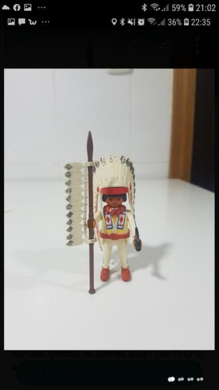 jefe indio playmobil