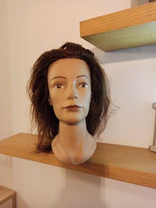 Maniquí peluquería pivot point (utilizada)