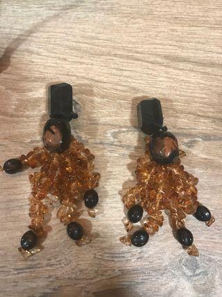 Pendientes de cristales