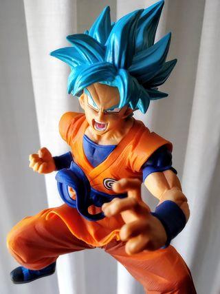 Estatua ORIGINAL Goku Blue Super Banpresto DBZ