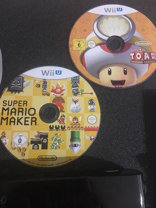 Wii U+ regalo 2 juegos