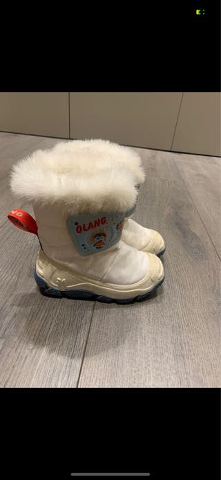 Descansos botas de nieve esquí 25-26 impecables