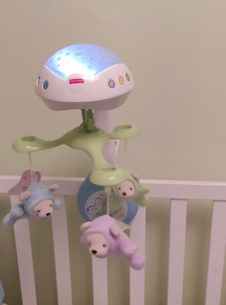 Proyector bebé con sonido y luces