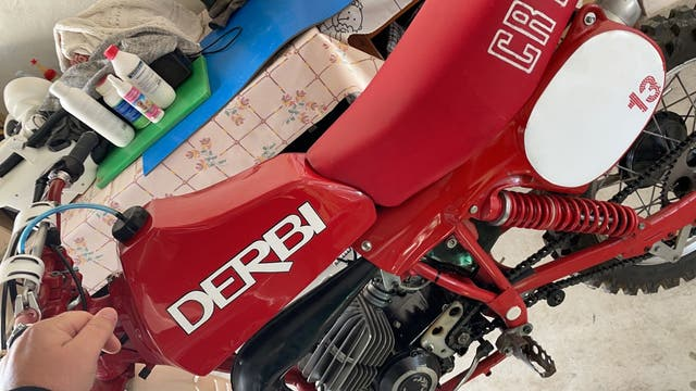Derbi cross 80cc