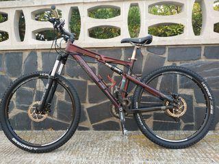 bicicleta de montaña rockrider 9.1 M mejorada