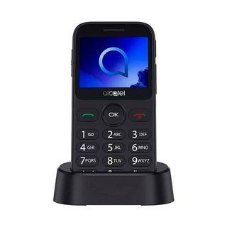 ALCATEL 2019G PLATA TELÉFONO MÓVIL SENIOR 2G 2.4''