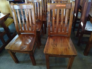 6 sillas - 6 chairs 300€
