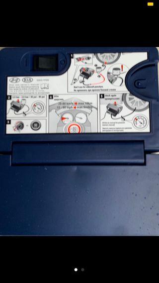 Compresor aire portátil