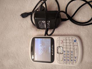 Teléfono móvil antiguo Alcatel