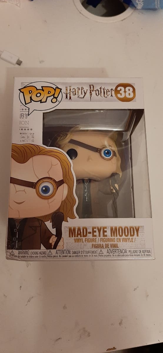 funko pop de harry potter, ojo loco moody