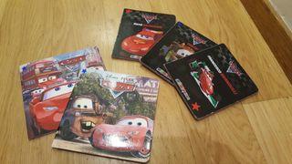 Lote 5 libros Cars Pixar