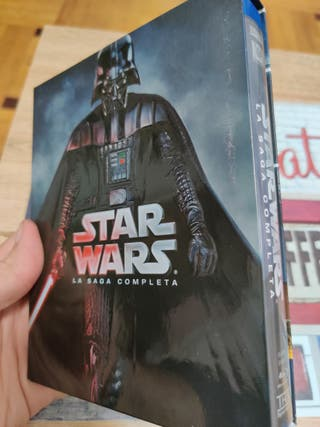 Star Wars Saga Completa Blue ray