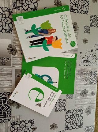 Libro ciencias naturales 6 de primaria valenciano