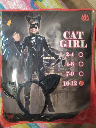 disfraz de gato para chica de 10 a 12 años