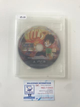 One Piece Pirate Warriors 2 / PS3 (Sin carátula)