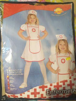 disfraz de enfermera de 10 a 12 años