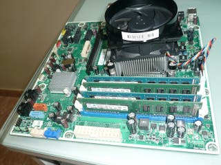 Placa HP MS-7613 Iona-GL8E +Intel i5 650m +8gb.ram