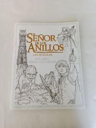 El Señor de los Anillos un libro para colorear