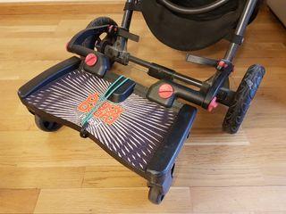 Lascal BuggyBoard Maxi con adaptadores