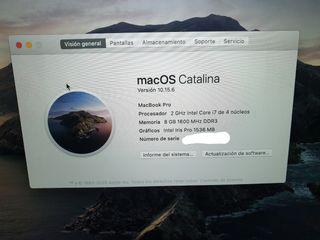 """Macbook pro 15"""" (finales 2013)"""