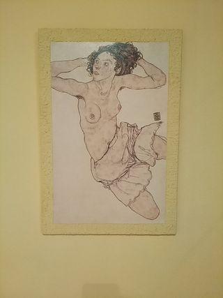 Cuadro Egon Schiele