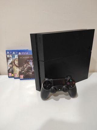 PS4 1 Tb + juegos