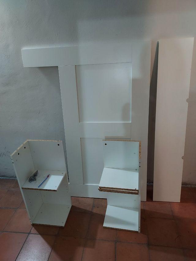 cabecero con almacenamiento Brimnes de Ikea 140