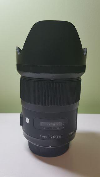 Sigma 35mm F1.4 Art para Nikon