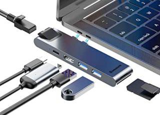 adaptador baseus para macbook air apple