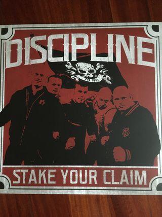 DISCIPLINE STAKE YOUR CLAIM