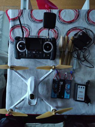 dron hubsan h501s pro avance.