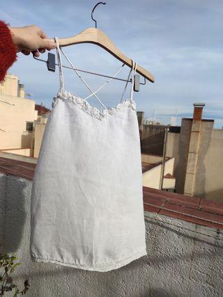 Top blanco, ZARA, poco usado