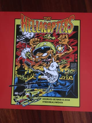 HELLACOPTERS LIVE STOCKHOLM 2008